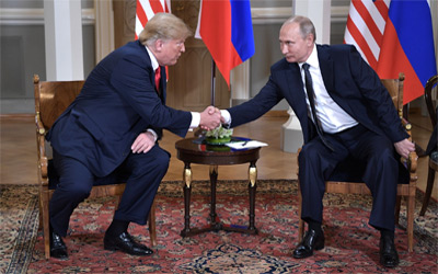 2018 Trump-Putin summit in Helsinki Finland